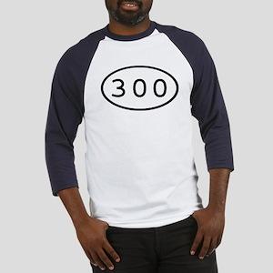 300 Oval Baseball Jersey