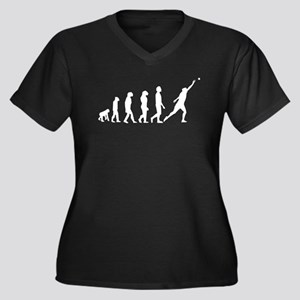 Shot Put Evolution Plus Size T-Shirt