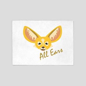 All Ears 5'x7'Area Rug