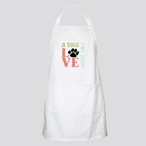 A Dogs Love Apron