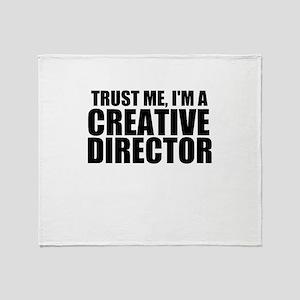 Trust Me, I'm A Creative Director Throw Blanke