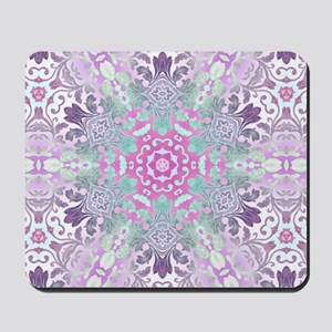 vintage bohemian abstract pattern Mousepad