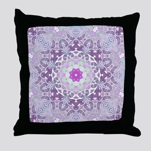 vintage bohemian abstract pattern Throw Pillow