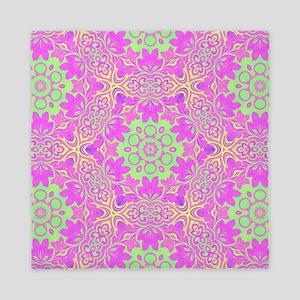 vintage bohemian abstract pattern Queen Duvet