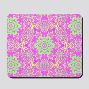 vintage bohemian abstract pattern Mousepad