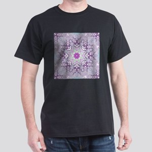 vintage bohemian abstract purple pattern T-Shirt
