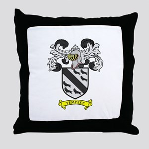 TEMPEST Coat of Arms Throw Pillow