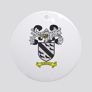 TEMPEST Coat of Arms Ornament (Round)