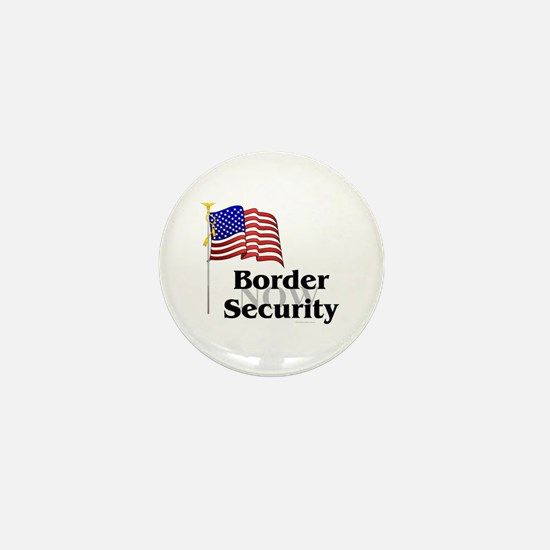 Border Security Now Mini Button