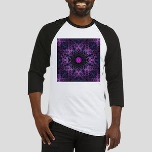 vintage bohemian purple abstract pattern Baseball