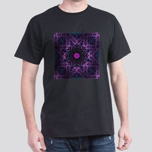 vintage bohemian purple abstract pattern T-Shirt