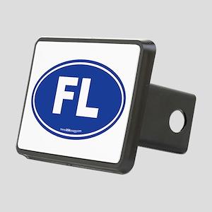 Florida FL Euro Oval Rectangular Hitch Cover