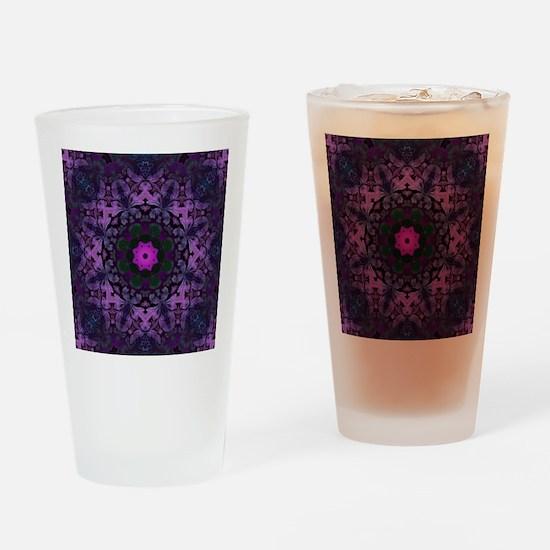 Funny Purple Drinking Glass