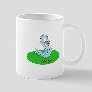 cartoon blue jay Mugs