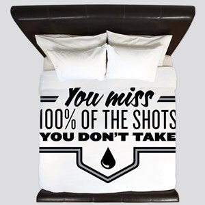 Hockey Quote King Duvet