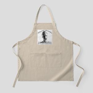 Friedrich Nietzsche 07 BBQ Apron