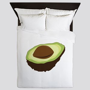 Avocado Half Queen Duvet