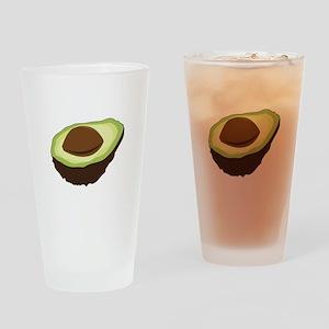 Avocado Half Drinking Glass