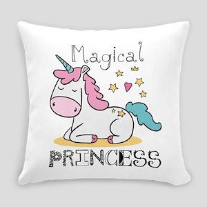 Unicorn Magical Princess Everyday Pillow