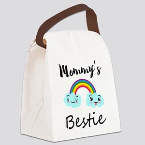 Colorful Rainbow - Mommy's Bestie Canvas Lunch Bag