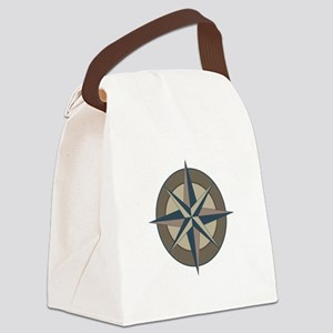 All Points Canvas Lunch Bag