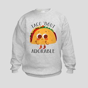 Taco 'Bout Adorable - Cute taco design Sweatshirt