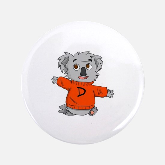 """Dysto Bear 3.5"""" Button"""