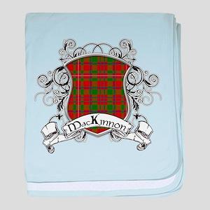 MacKinnon Tartan Shield baby blanket