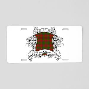 MacKinnon Tartan Shield Aluminum License Plate