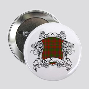 """MacKinnon Tartan Shield 2.25"""" Button"""