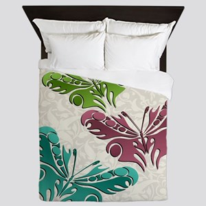 Butterfly Trio Queen Duvet