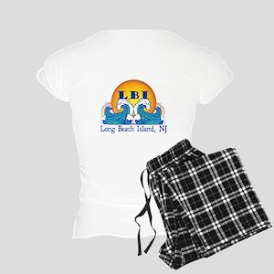 The Lbi Wave... Women's Light Pajamas