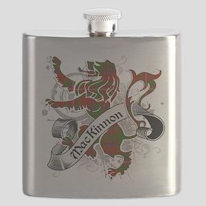 MacKinnon Tartan Lion Flask