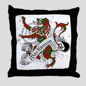 MacKinnon Tartan Lion Throw Pillow
