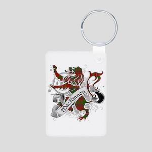 MacKinnon Tartan Lion Aluminum Photo Keychain