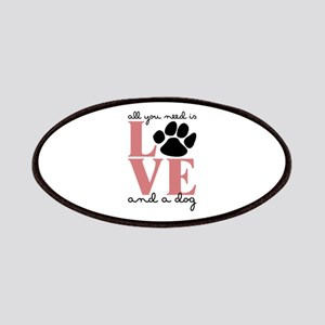 Love And A Dog Patches