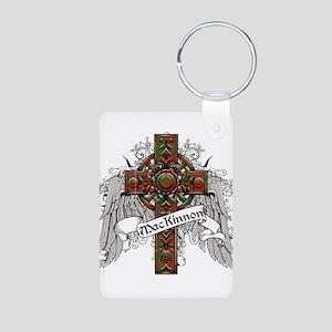 MacKinnon Tartan Cross Aluminum Photo Keychain