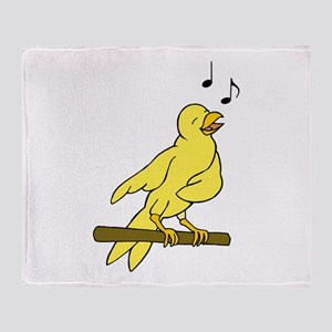 canary Throw Blanket