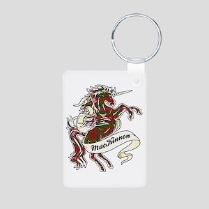 MacKinnon Unicorn Aluminum Photo Keychain