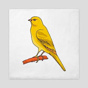 canary Queen Duvet