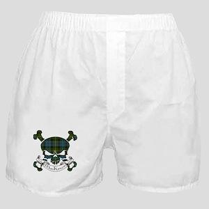 MacKenzie Tartan Skull Boxer Shorts
