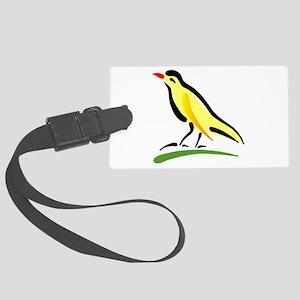 artistic canary Luggage Tag