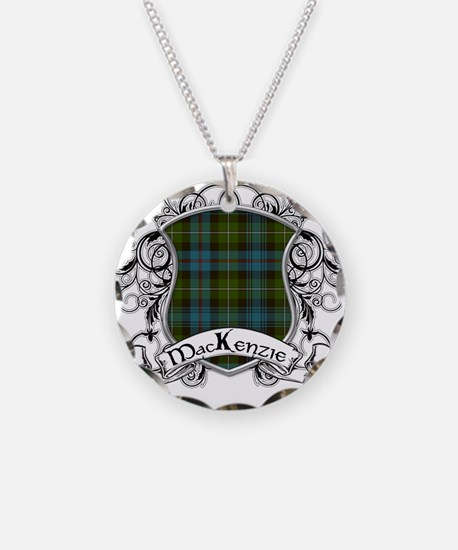 MacKenzie Tartan Shield Necklace