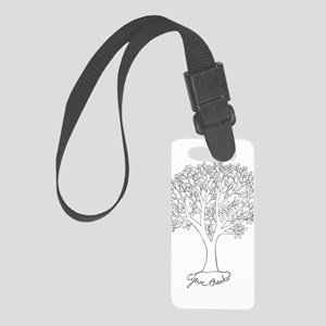 Give Thanks Tree Small Luggage Tag