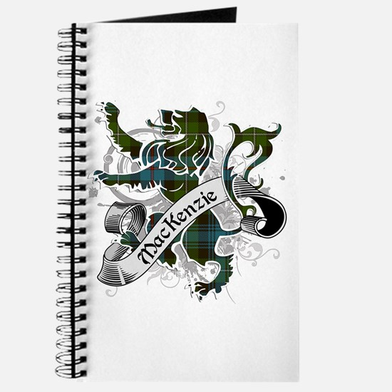 MacKenzie Tartan Lion Journal
