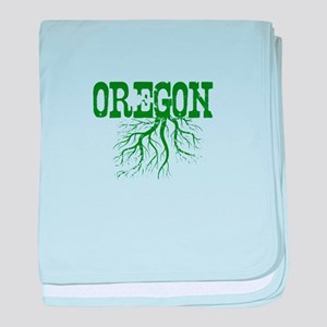 Oregon Roots baby blanket
