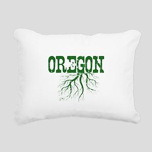 Oregon Roots Rectangular Canvas Pillow