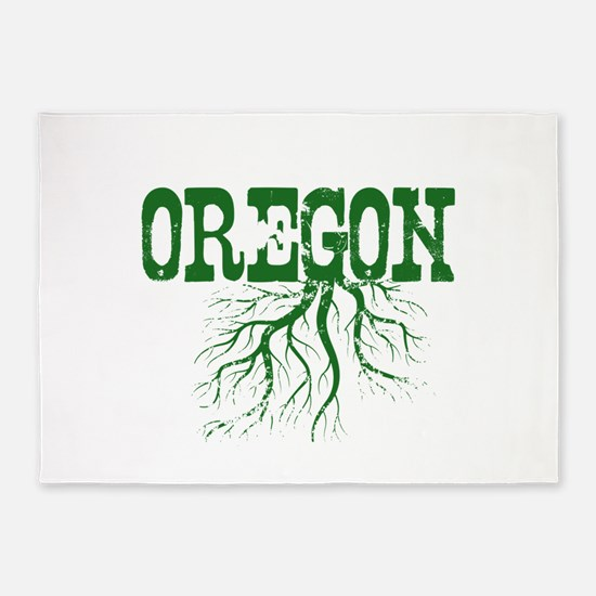 Oregon Roots 5'x7'Area Rug