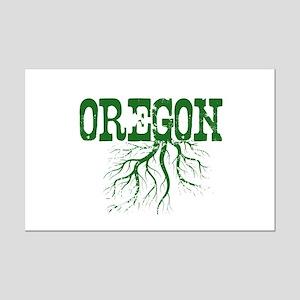 Oregon Roots Mini Poster Print