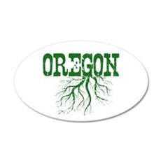 Oregon Roots Wall Decal
